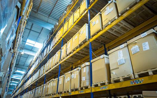 Logistique : un nouvel entrepôt